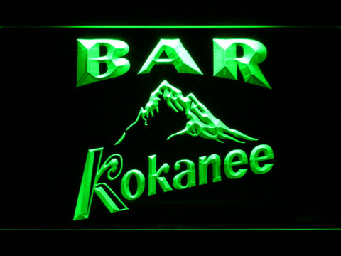 Kokanee Bar LED Neon Sign - Green - SafeSpecial