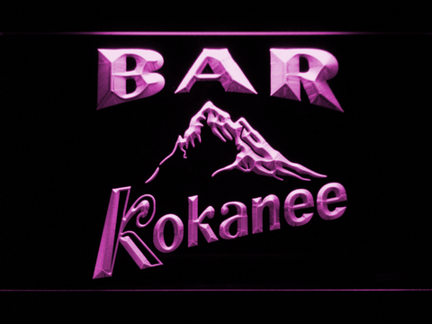 Kokanee Bar LED Neon Sign - Purple - SafeSpecial