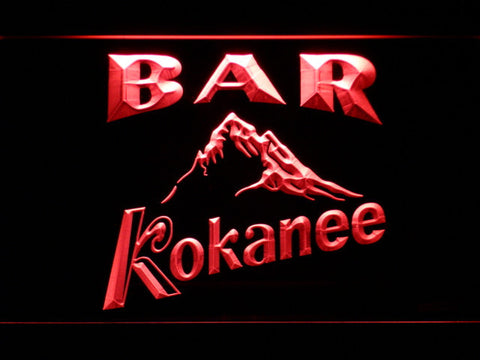 Image of Kokanee Bar LED Neon Sign - Red - SafeSpecial