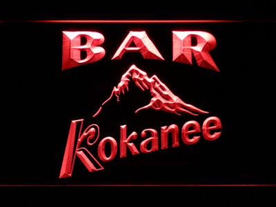 Kokanee Bar LED Neon Sign - Red - SafeSpecial