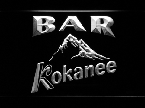 Image of Kokanee Bar LED Neon Sign - White - SafeSpecial