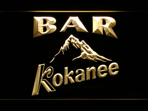 Kokanee Bar LED Neon Sign - Yellow - SafeSpecial