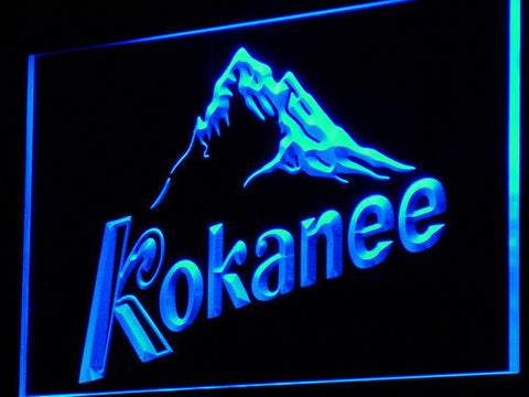 Image of Kokanee LED Neon Sign - Blue - SafeSpecial