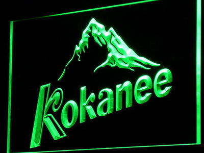 Kokanee LED Neon Sign - Green - SafeSpecial