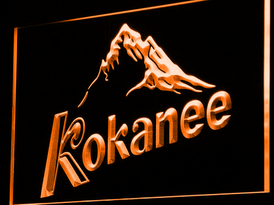 Kokanee LED Neon Sign - Orange - SafeSpecial