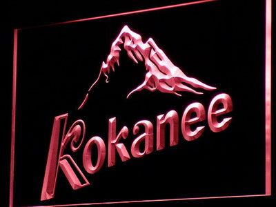 Kokanee LED Neon Sign - Red - SafeSpecial