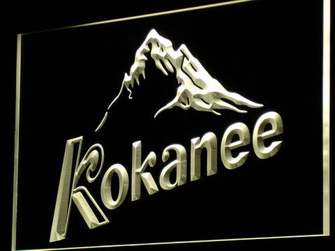 Image of Kokanee LED Neon Sign - Yellow - SafeSpecial