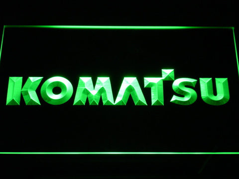 Image of Komatsu LED Neon Sign - Green - SafeSpecial