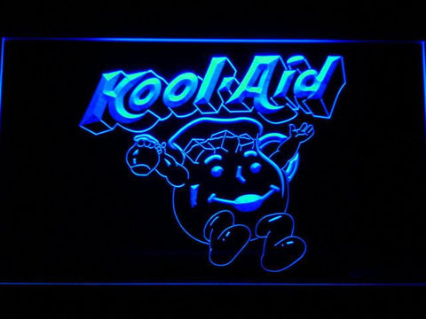 Kool-Aid LED Neon Sign - Blue - SafeSpecial