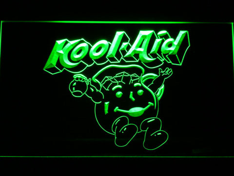 Kool-Aid LED Neon Sign - Green - SafeSpecial