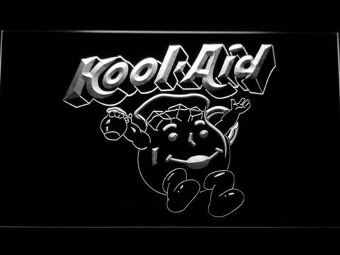Kool-Aid LED Neon Sign - White - SafeSpecial