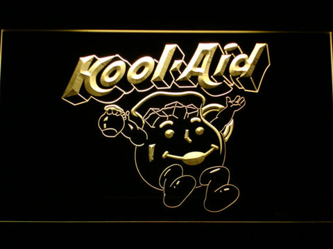 Kool-Aid LED Neon Sign - Yellow - SafeSpecial