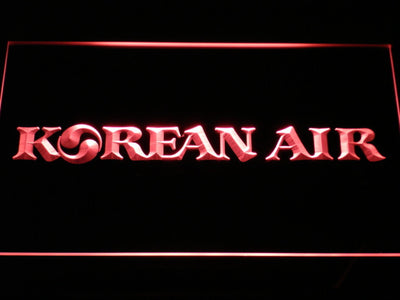 Korean Air LED Neon Sign - Red - SafeSpecial