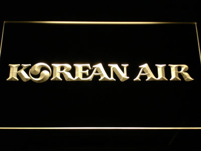 Korean Air LED Neon Sign - Yellow - SafeSpecial