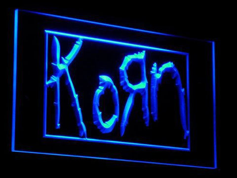 Korn LED Neon Sign - Blue - SafeSpecial