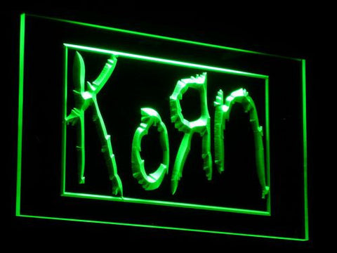 Korn LED Neon Sign - Green - SafeSpecial