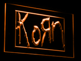 Korn LED Neon Sign - Orange - SafeSpecial