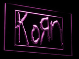 Korn LED Neon Sign - Purple - SafeSpecial