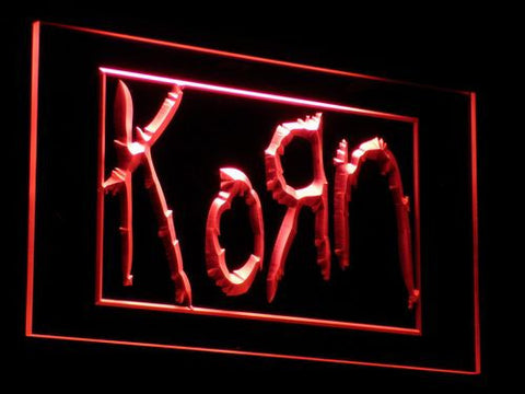 Korn LED Neon Sign - Red - SafeSpecial