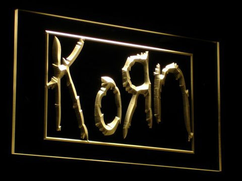 Korn LED Neon Sign - Yellow - SafeSpecial