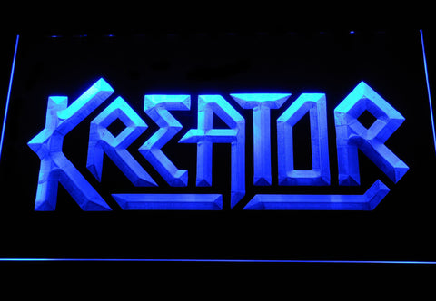 Kreator LED Neon Sign - Blue - SafeSpecial