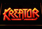 Kreator LED Neon Sign - Orange - SafeSpecial
