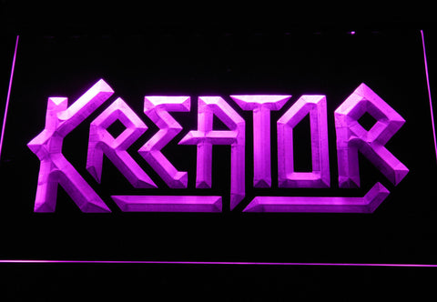 Kreator LED Neon Sign - Purple - SafeSpecial