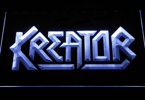 Kreator LED Neon Sign - White - SafeSpecial