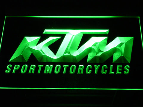 KTM LED Neon Sign - Green - SafeSpecial