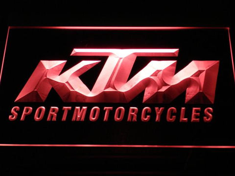 KTM LED Neon Sign - Red - SafeSpecial