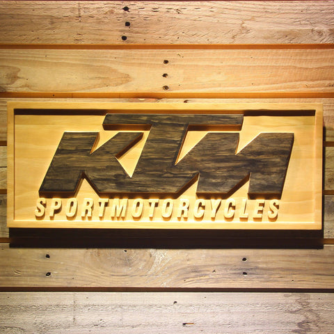 KTM Wooden Sign - Small - SafeSpecial
