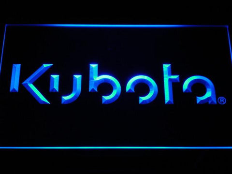 Image of Kubota LED Neon Sign - Blue - SafeSpecial