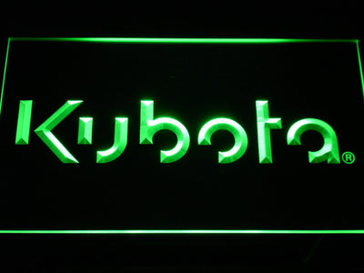 Kubota LED Neon Sign - Green - SafeSpecial