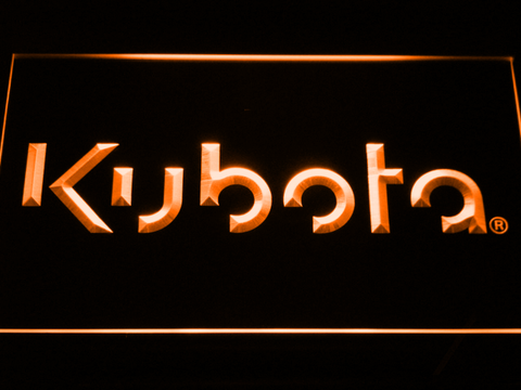 Image of Kubota LED Neon Sign - Orange - SafeSpecial