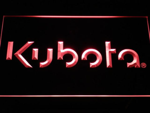 Image of Kubota LED Neon Sign - Red - SafeSpecial
