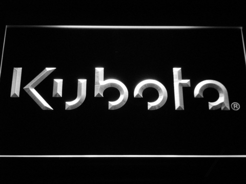 Image of Kubota LED Neon Sign - White - SafeSpecial