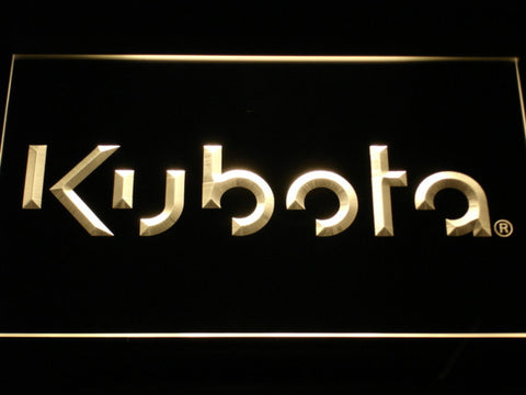 Image of Kubota LED Neon Sign - Yellow - SafeSpecial