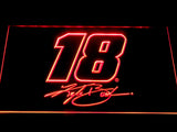 Kyle Busch Signature 18 LED Neon Sign - Red - SafeSpecial
