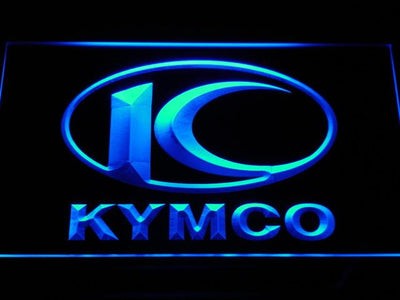 Kymco LED Neon Sign - Blue - SafeSpecial