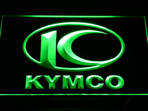 Image of Kymco LED Neon Sign - Green - SafeSpecial