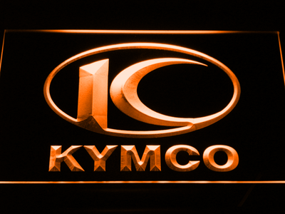 Kymco LED Neon Sign - Orange - SafeSpecial