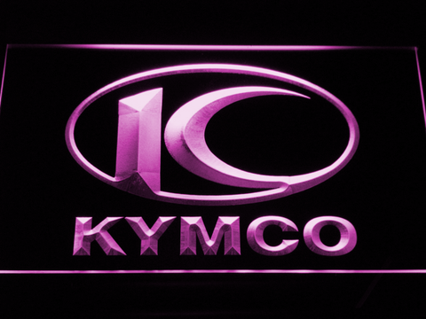 Image of Kymco LED Neon Sign - Purple - SafeSpecial