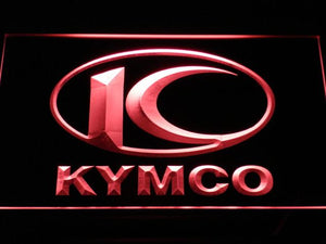 Kymco LED Neon Sign - Red - SafeSpecial