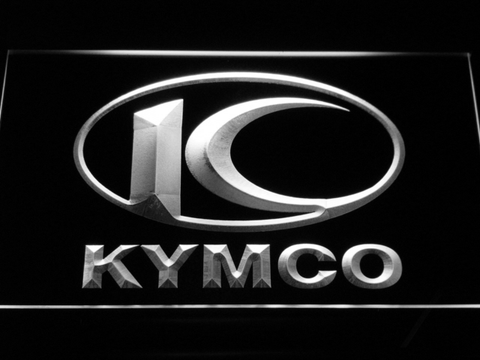 Image of Kymco LED Neon Sign - White - SafeSpecial