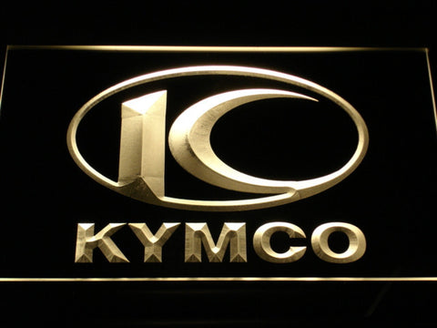 Image of Kymco LED Neon Sign - Yellow - SafeSpecial