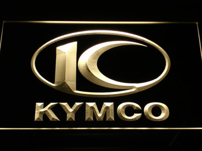 Kymco LED Neon Sign - Yellow - SafeSpecial