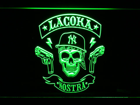 La Coka Nostra LED Neon Sign - Green - SafeSpecial