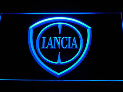 Lancia LED Neon Sign - Blue - SafeSpecial