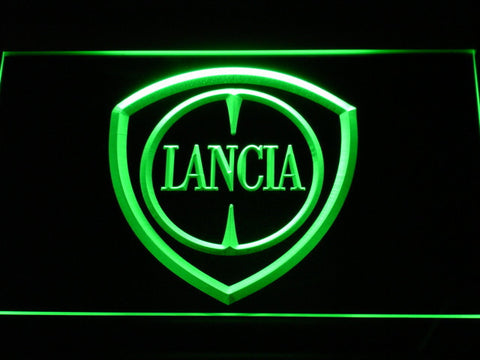Image of Lancia LED Neon Sign - Green - SafeSpecial