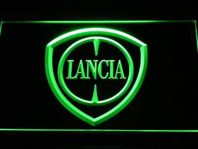 Lancia LED Neon Sign - Green - SafeSpecial